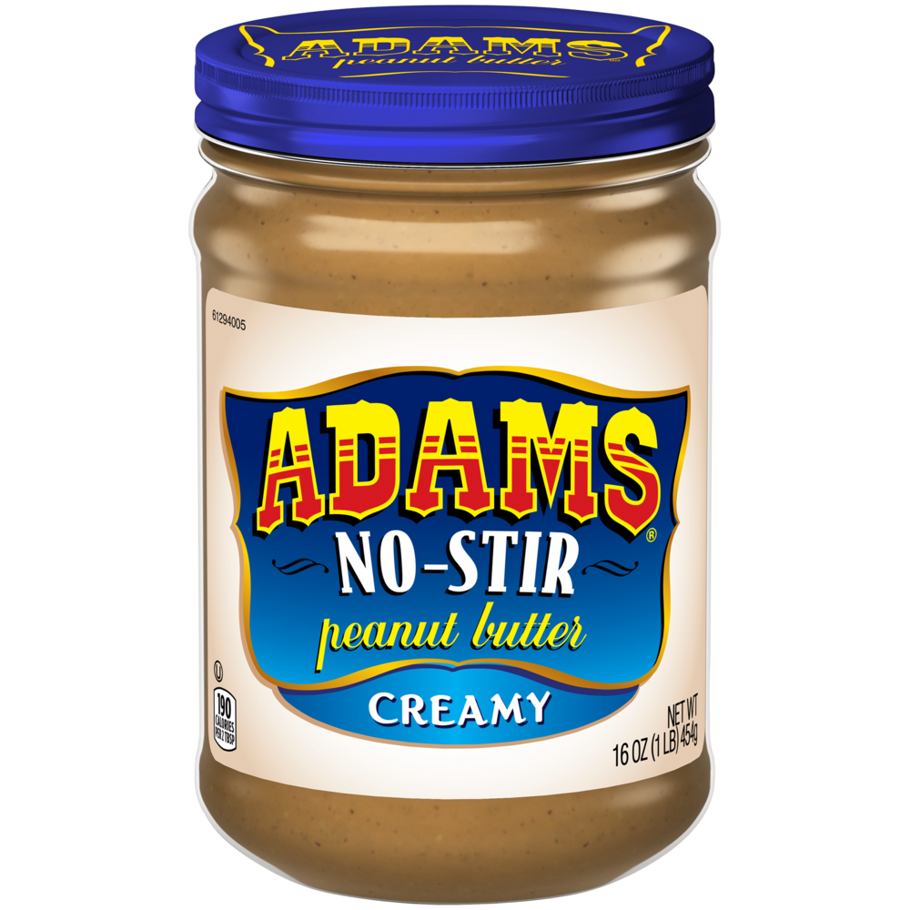 Adams Peanut Butter - No Stir Creamy