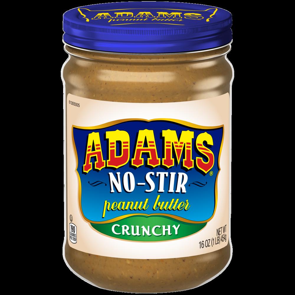 Adams Peanut Butter - No Stir Crunchy