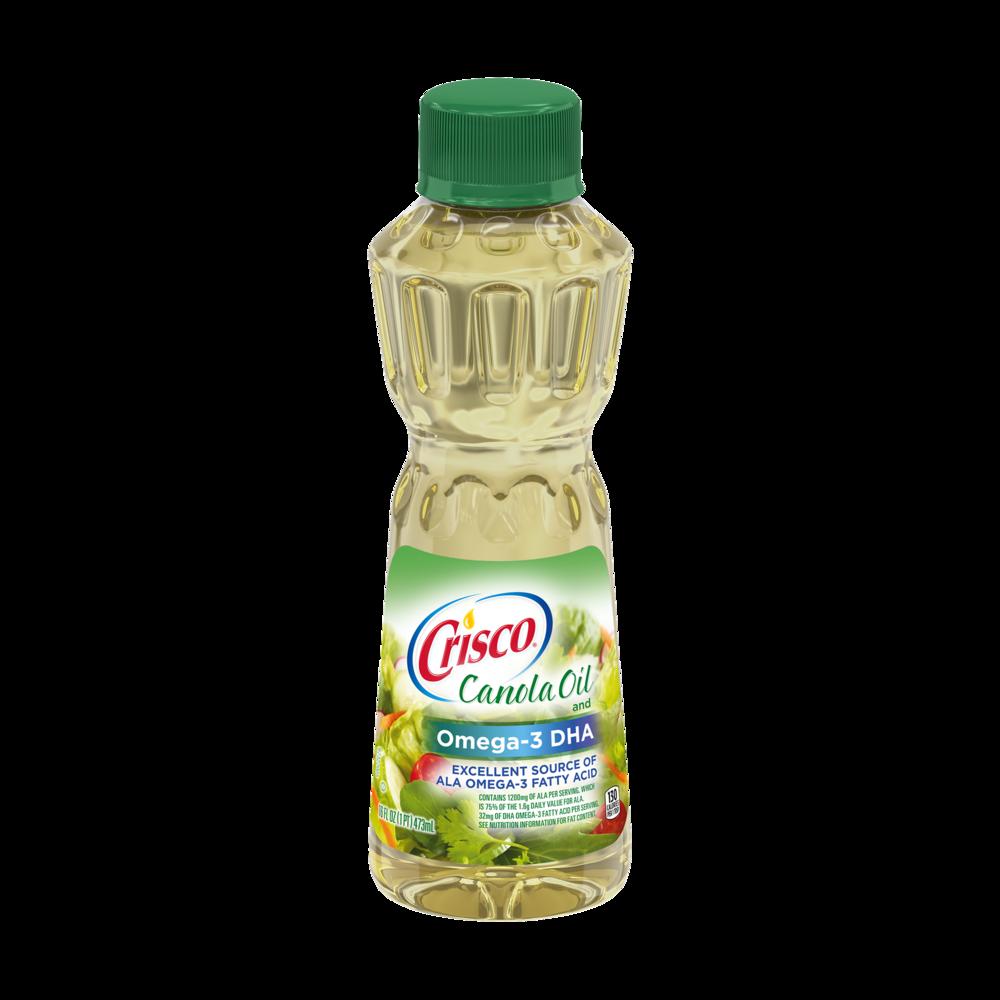 Canola Oil and Omega-3 DHA