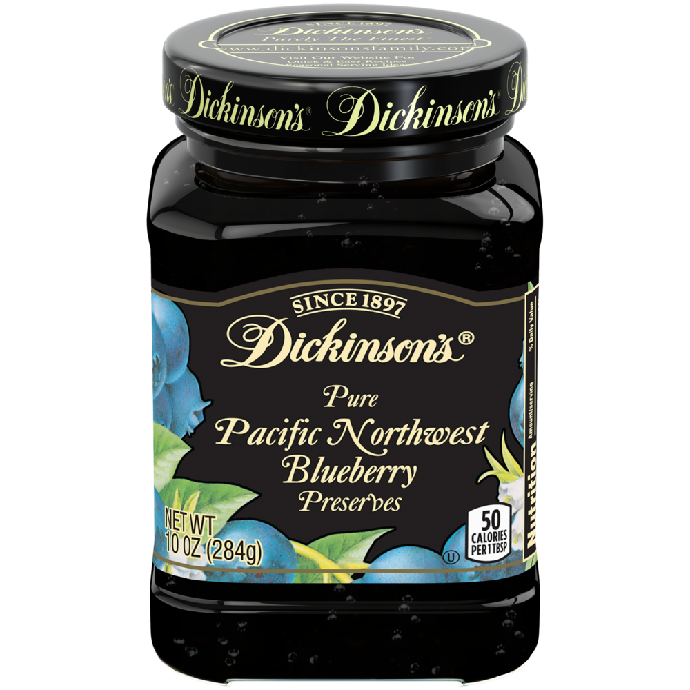 Pacific Northwest Blueberry Preserves
