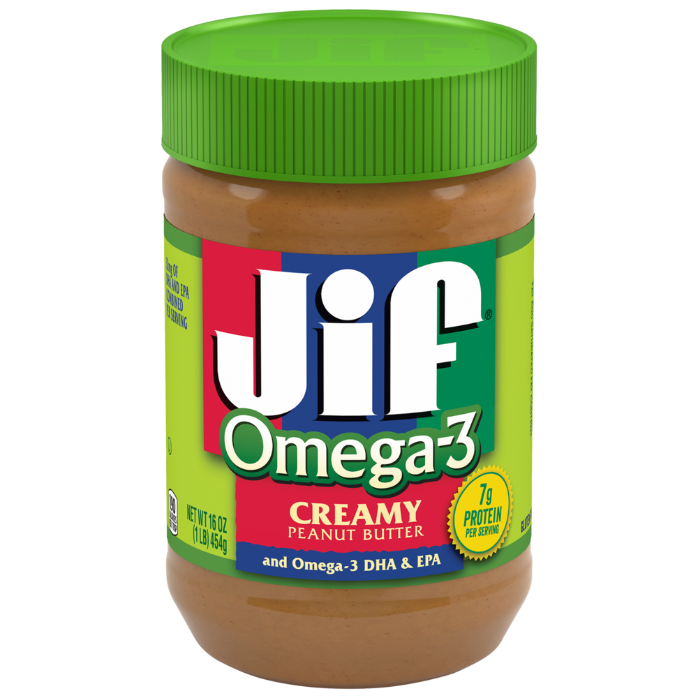 Creamy Peanut Butter with Omega-3 DHA & EPA
