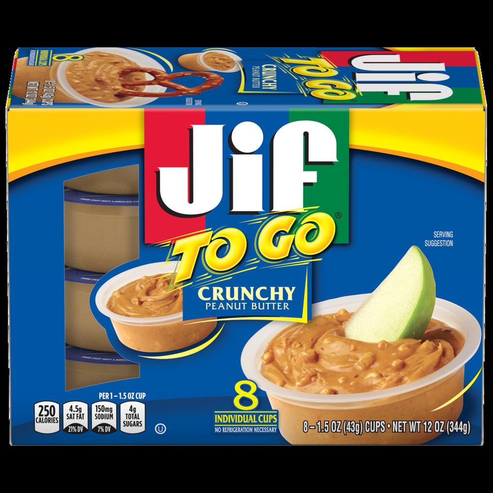 Jif To Go® Crunchy Peanut Butter