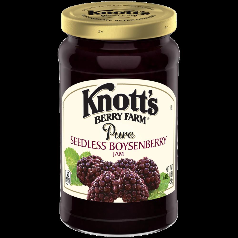 Seedless Boysenberry Jam