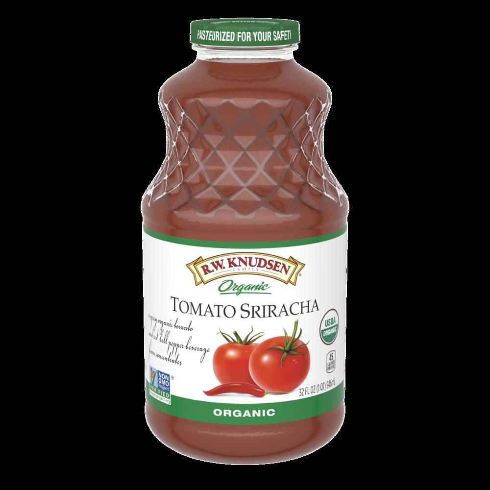 Organic Tomato Sriracha Beverage
