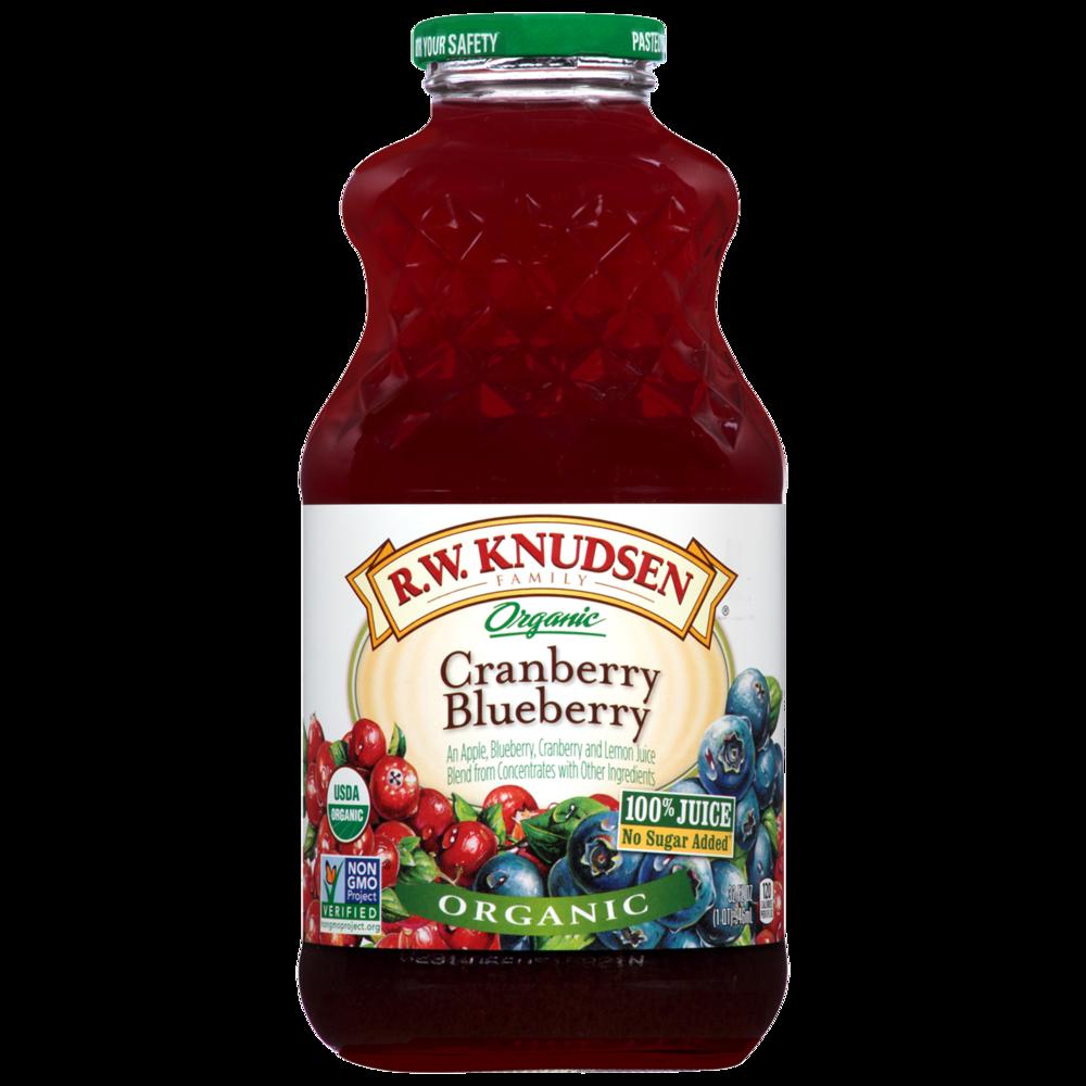 Organic Cranberry Blueberry