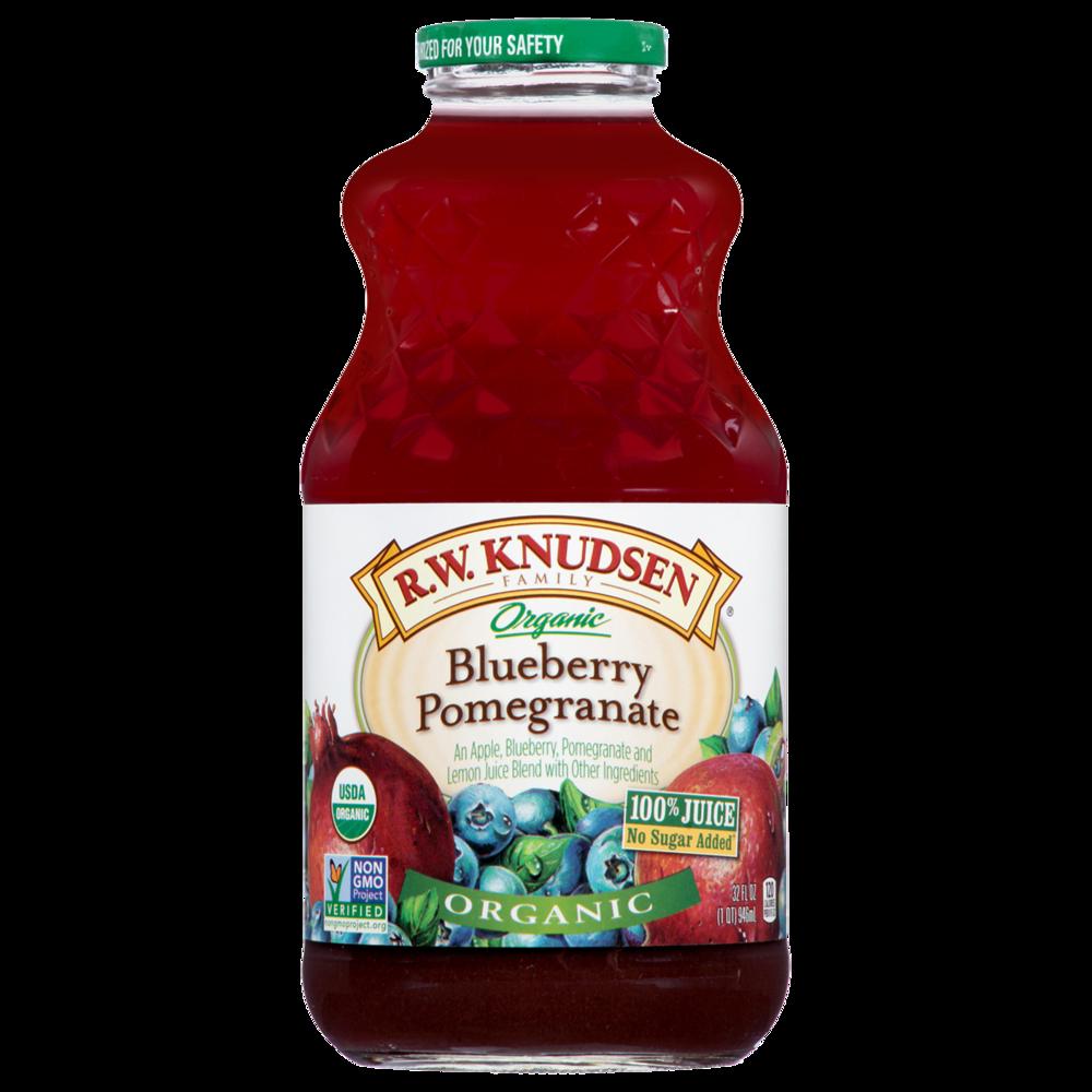 Organic Blueberry Pomegranate