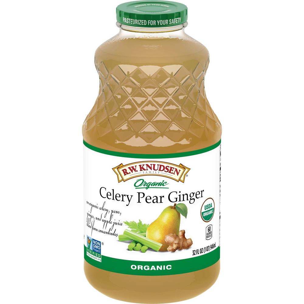 Organic Celery Pear Ginger Juice Blend