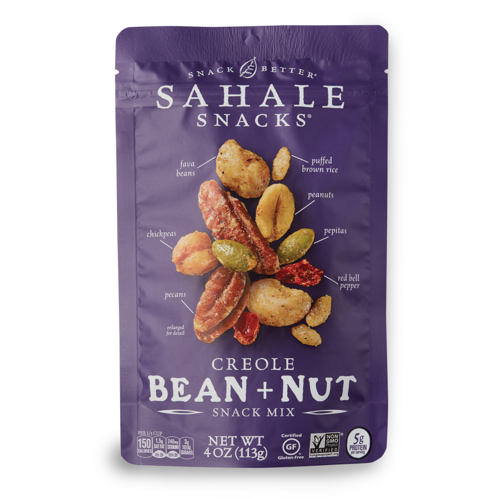 Creole Bean + Nut Snack Mix