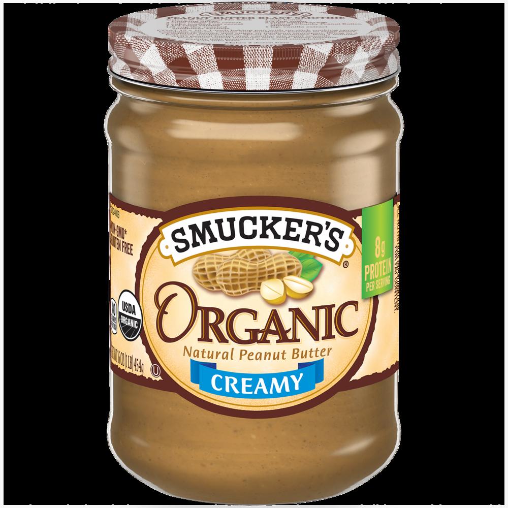 Organic Creamy Peanut Butter