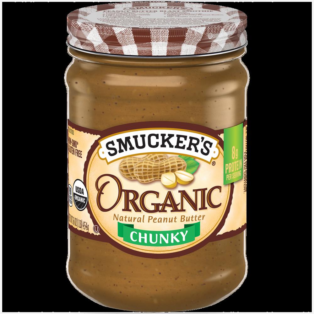 Organic Chunky Peanut Butter