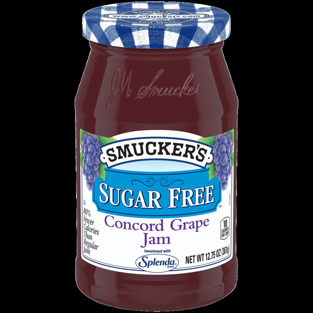 Sugar Free Concord Grape Jam with Splenda