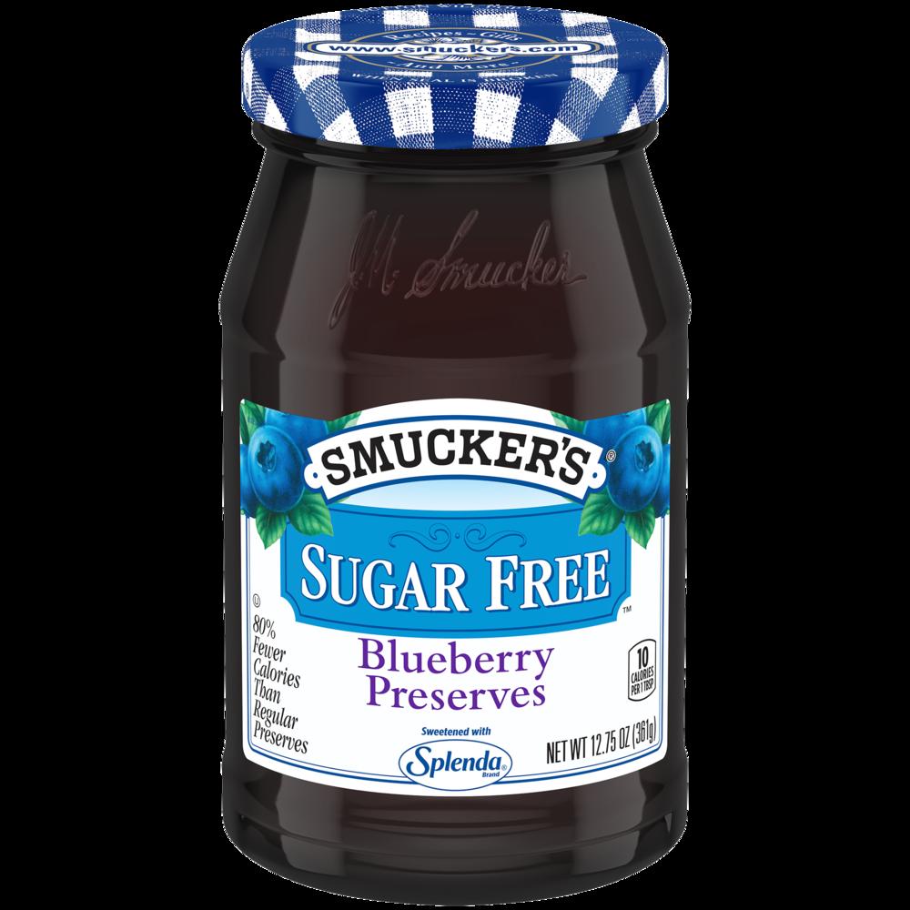 Sugar Free Blueberry Preserves with Splenda
