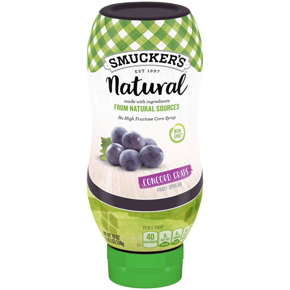 Natural Squeeze Concord Grape Fruit Spread