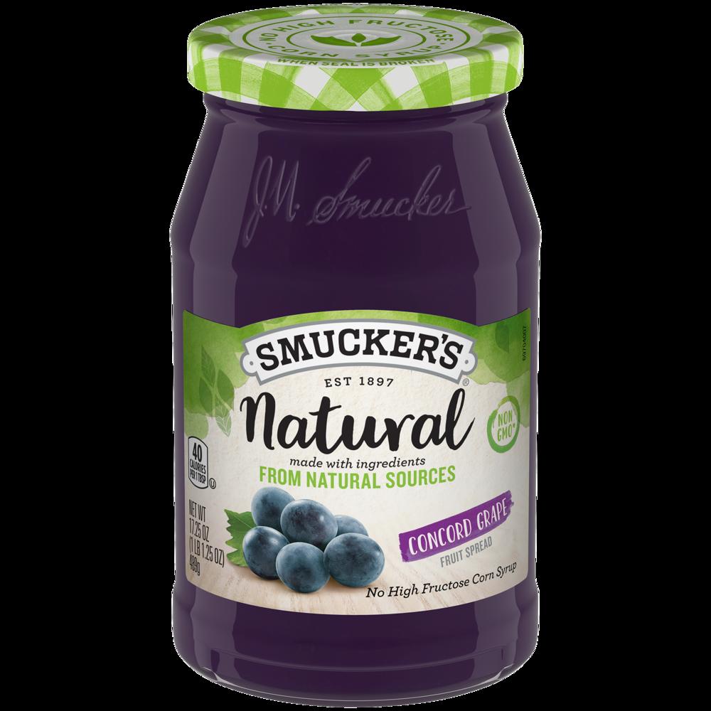 Natural Concord Grape Fruit Spread