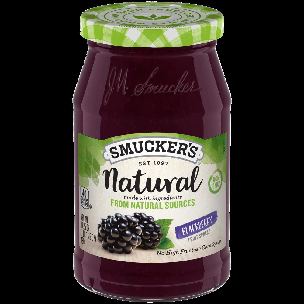 Natural Blackberry Fruit Spread