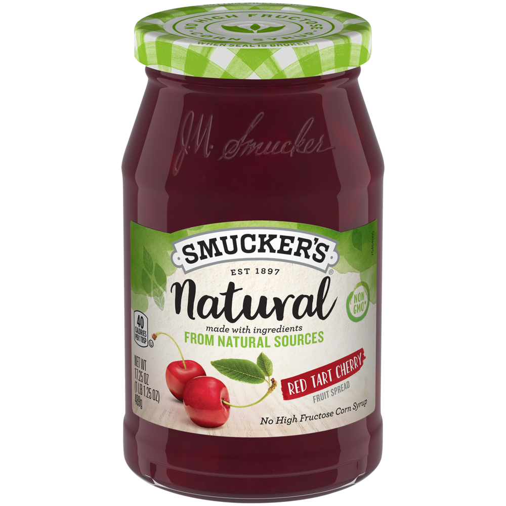 Natural Red Tart Cherry Fruit Spread