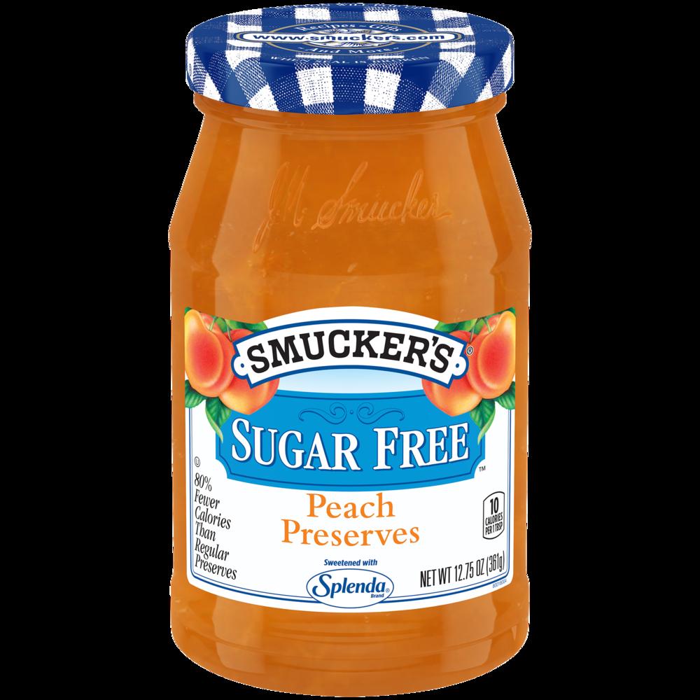 Sugar Free Peach Preserves with Splenda