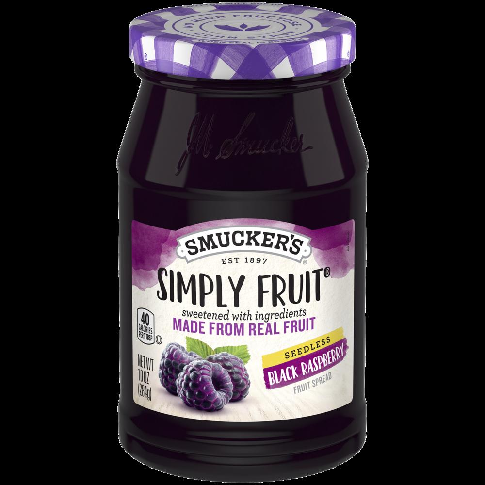 Simply Fruit® Seedless Black Raspberry Spreadable Fruit
