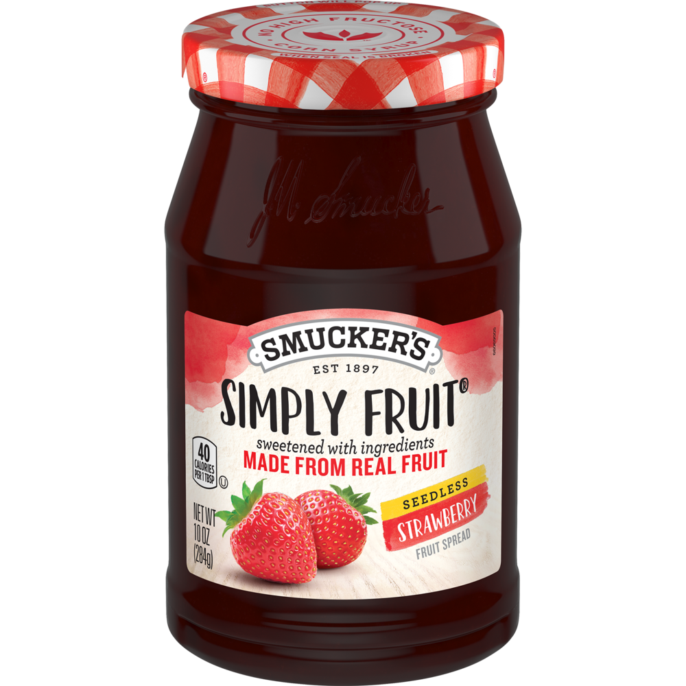 Simply Fruit® Seedless Strawberry Spreadable Fruit