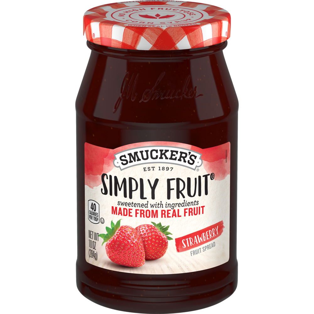 Simply Fruit® Strawberry Spreadable Fruit