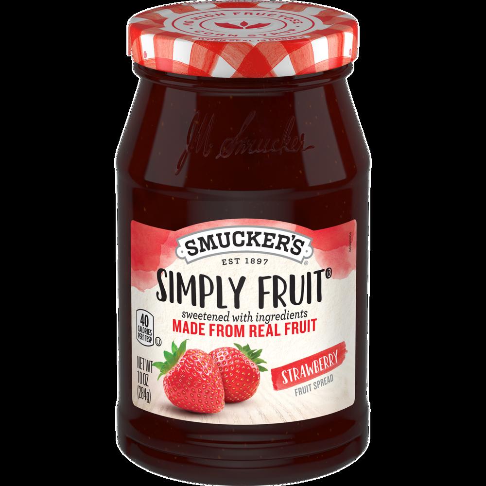 Simply Fruit® Strawberry Fruit Spread