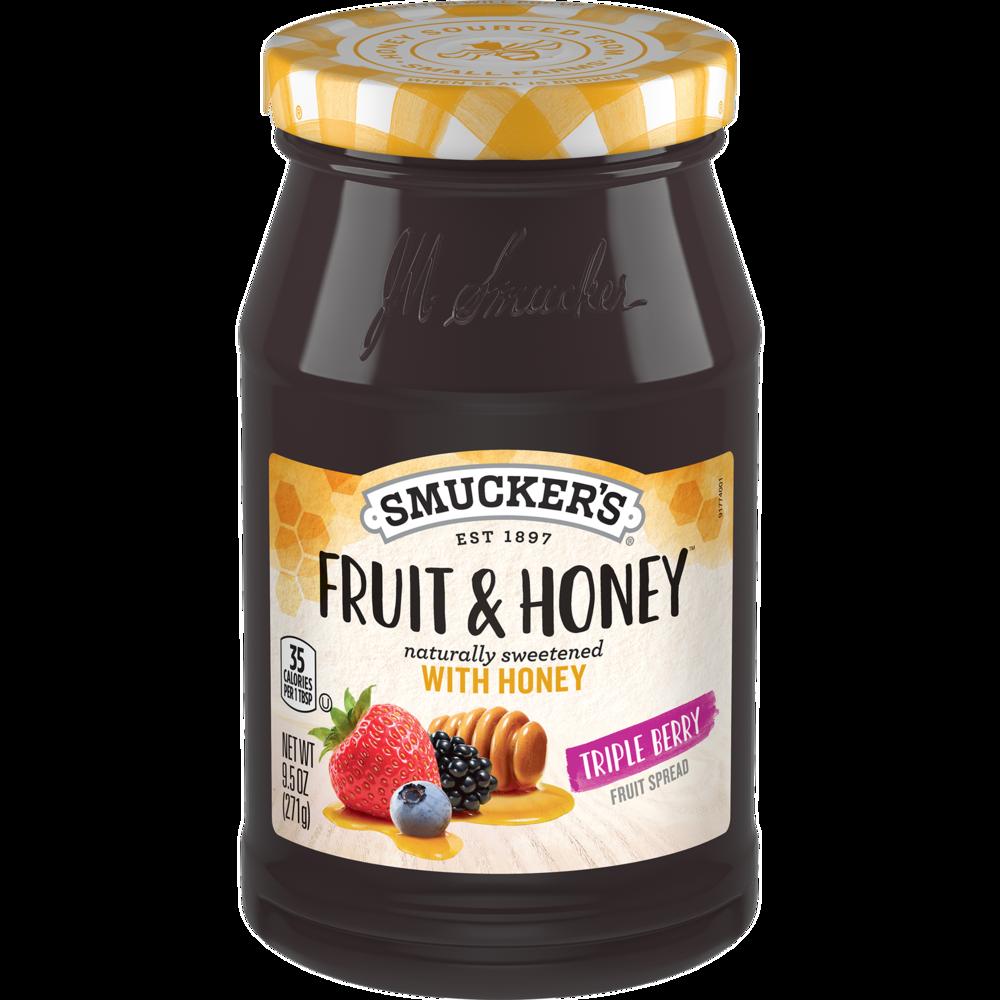 Fruit & Honey™ Triple Berry Fruit Spread