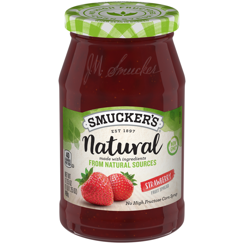 Natural Strawberry Fruit Spread