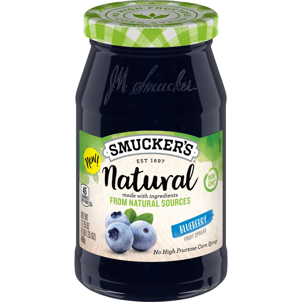 Natural Blueberry Fruit Spread