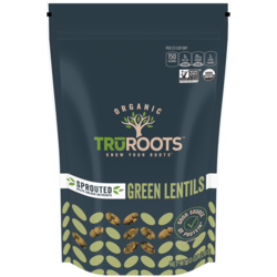 Organic Sprouted Green Lentils