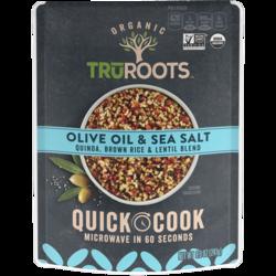 Quick Cook Olive Oil & Sea Salt Quinoa, Brown Rice, & Lentil Blend
